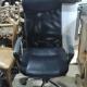 tweedehands zwarte bureaustoel